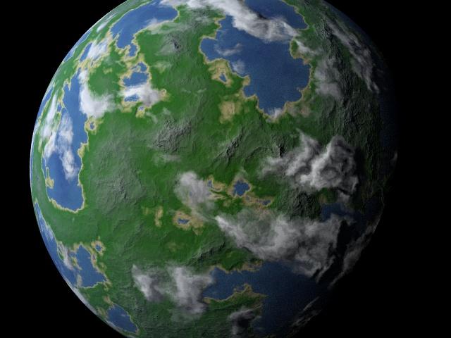 POV-Ray: Newsgroups: povray binaries images: random Earth