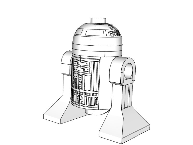 lego star wars r2d2 coloring Lego Star Wars R2d2 Coloring Pages