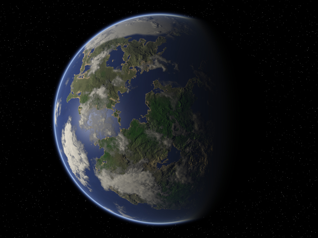 new planet like earth - HD 1024×768